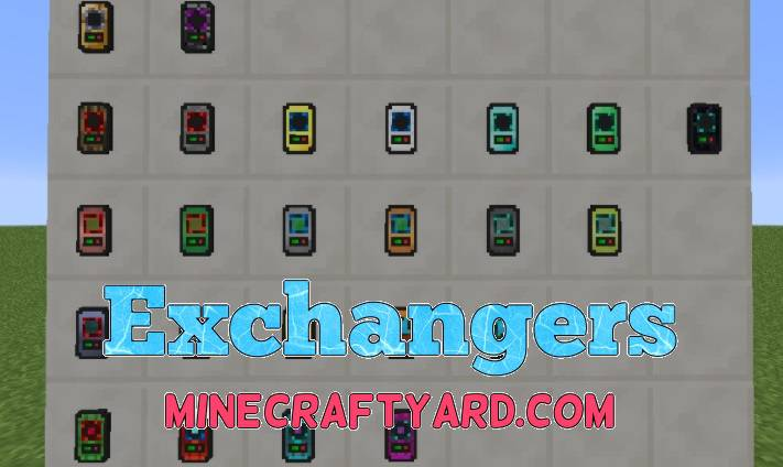 Exchangers Mod 1.12/1.11.2