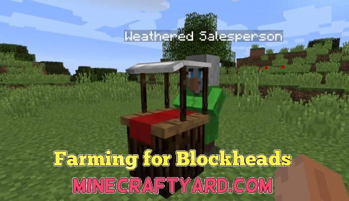 Farming for Blockheads 1.12.2/1.12.1/1.11.2