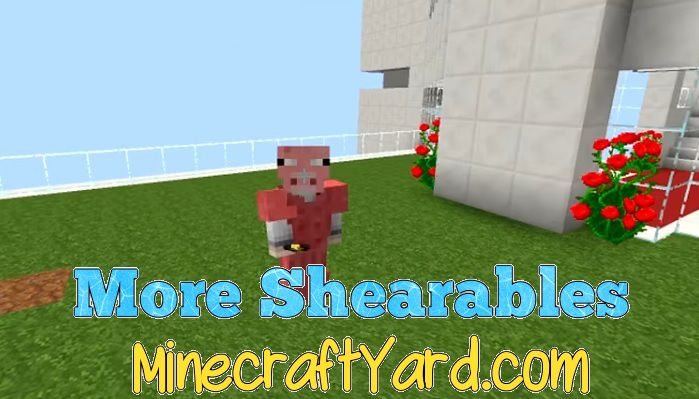 More Shearables Mod 1.13.1/1.13/1.12.2/1.11.2