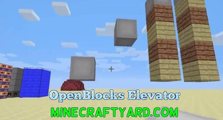 OpenBlocks Elevator 1.14.4/1.13.2/1.12.2/1.11.2