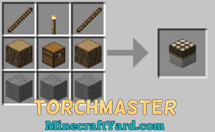 TorchMaster Mod 1.14/1.13.2/1.12.2/1.11.2