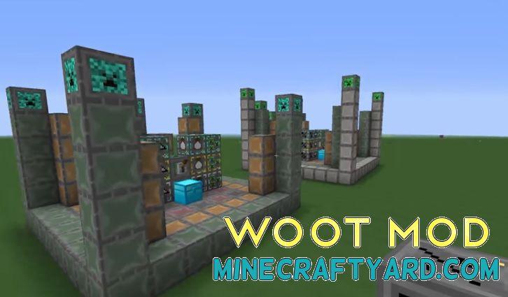 Woot Mod 1.14/1.13.2/1.12.2/1.11.2