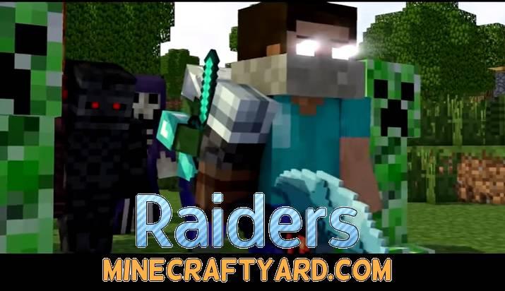 Raiders Mod 1.13.1/1.13/1.12.2/1.11.2