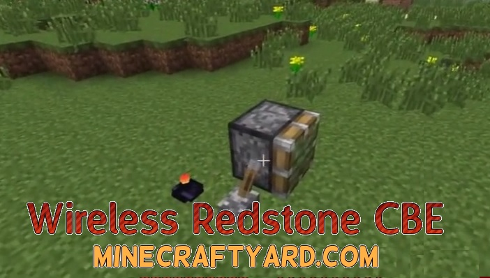 Wireless Redstone CBE 1.14/1.13.2/1.12.2/1.11.2