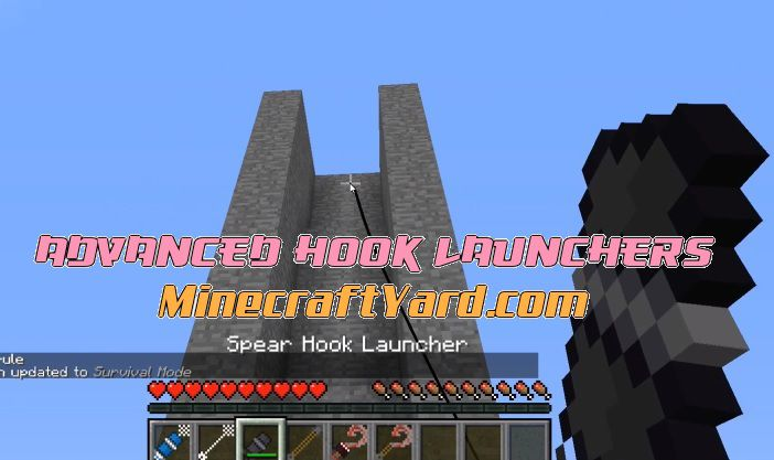 Advanced Hook Launchers 1.14/1.13.2/1.12.2/1.11.2