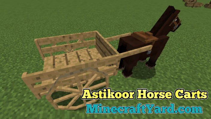 Astikoor Horse Carts 1.13.1/1.12.2