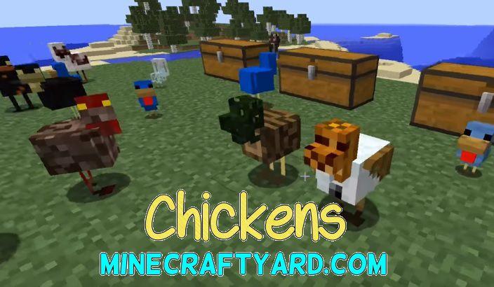 Chickens Mod 1.13.1/1.12.2