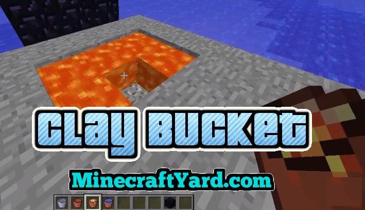 Clay Bucket 1.14/1.13.2/1.12.2/1.11.2