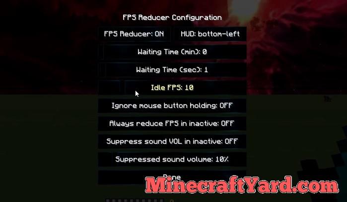 FPS Reducer 1.10.2