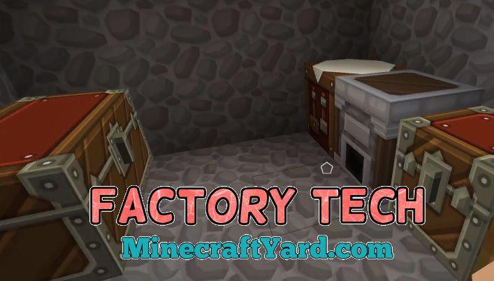 Factory Tech 1.14/1.13.2/1.12.2/1.11.2
