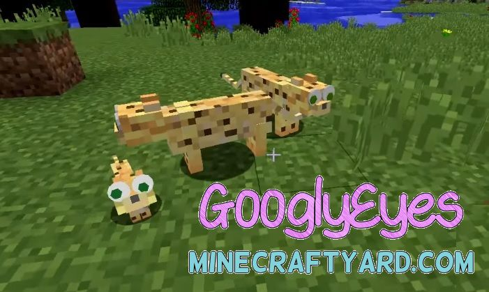 GooglyEyes Mod 1.14/1.13.2/1.12.2