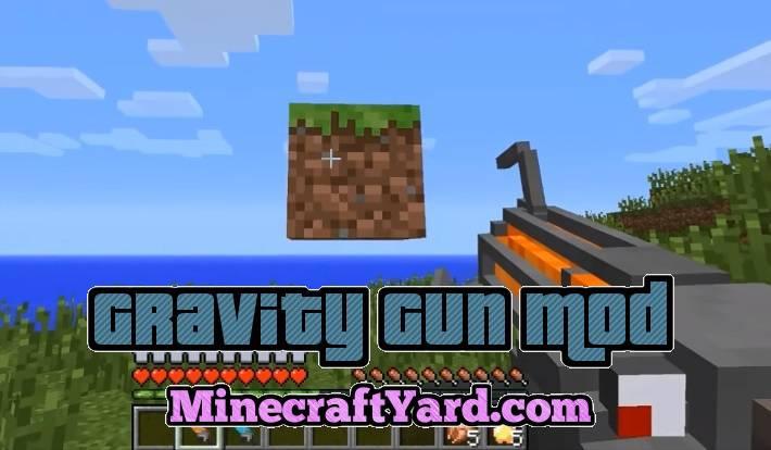 Gravity Gun 1.14/1.13.2/1.12.2
