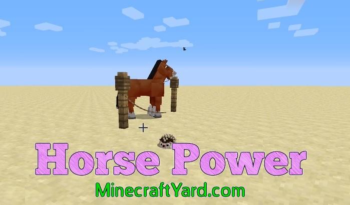 Horse Power 1.14.3/1.13.2/1.12.2/1.11.2