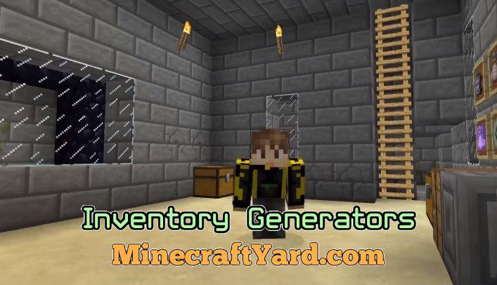 Inventory Generators 1.14/1.13.2/1.12.2/1.11.2