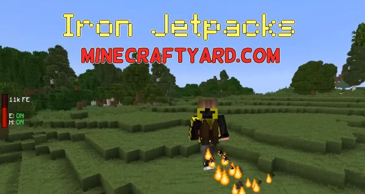 Iron Jetpacks 1.13.1/1.12.2/1.11.2