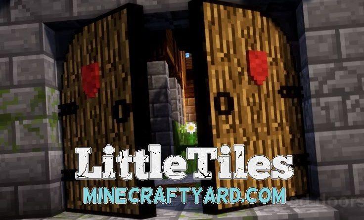 LittleTiles 1.14/1.13.2/1.12.2/1.11.2