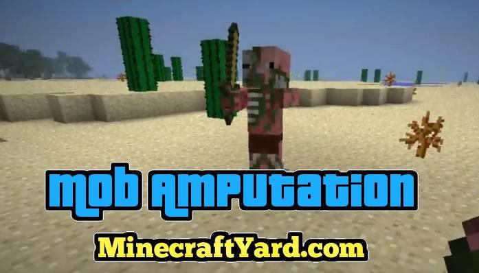 Mob Amputation Mod 1.13.1/1.12.2