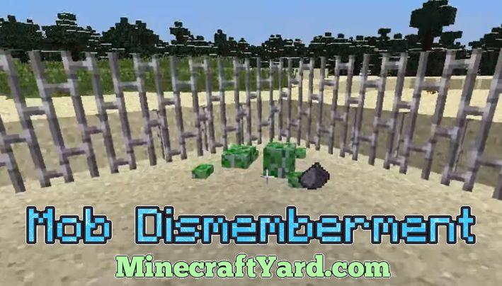 Mob Dismemberment 1.13.1/1.12.2