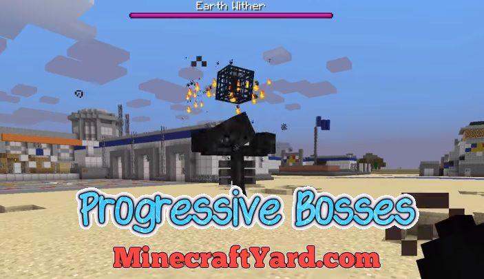 Progressive Bosses 1.14/1.13.2/1.12.2/1.11.2