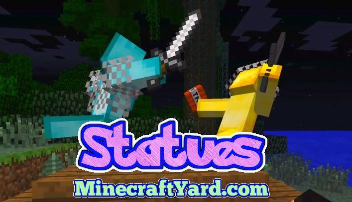 Statues Mod 1.14/1.13.2/1.12.2/1.11.2