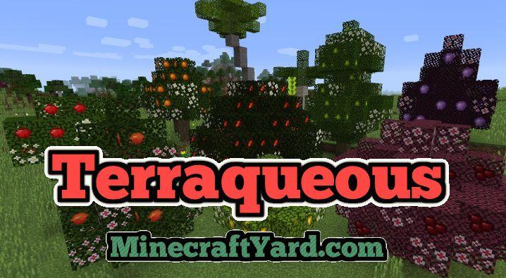 Terraqueous Mod 1.14.3/1.13.2/1.12.2/1.11.2