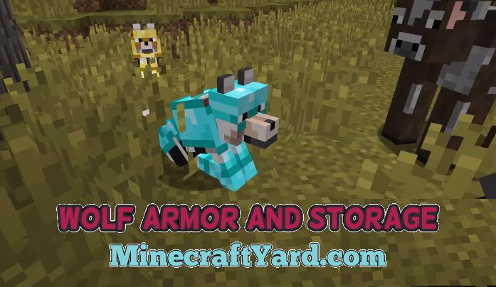 Wolf Armor and Storage Mod 1.13.1/1.12.2